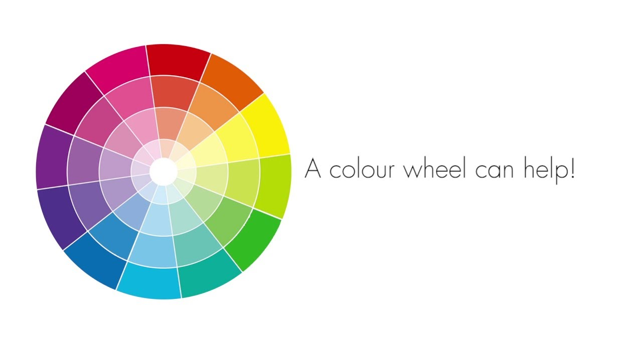 How To Use Colour The Colour Wheel Youtube