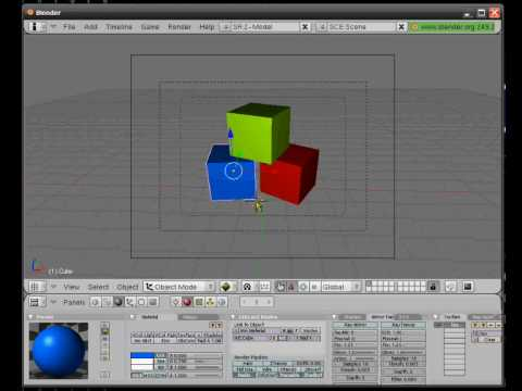 Using blender 3d software for graphic design basic youtube for Simple blueprint software