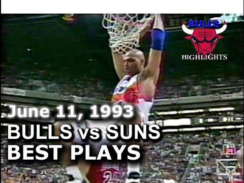 1993 Bulls vs Suns game 2 highlights
