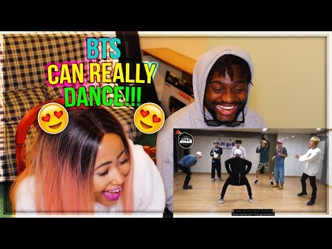 BTS SILVER SPOON (BAEPSAE) DANCE PRACTICE - SHE'S JOINED THE ARMY!! | REACTION!!!
