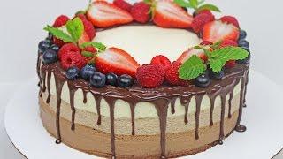 Triple Chocolate Mousse Cake   Chocolate Dessert
