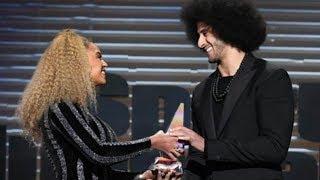 Beyonce SURPRISES Colin Kaepernick with Muhammad Ali Legacy Award