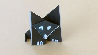 How To Make An Easy Origami Wolf (HD)