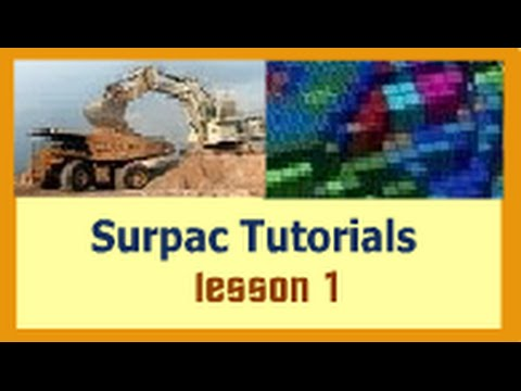 How to create Geological Database in Surpac (Step-by-Step)