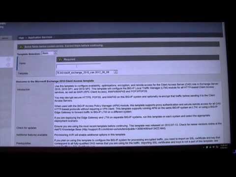 MEC 2012 -- Configuring Exchange on BIG-IP