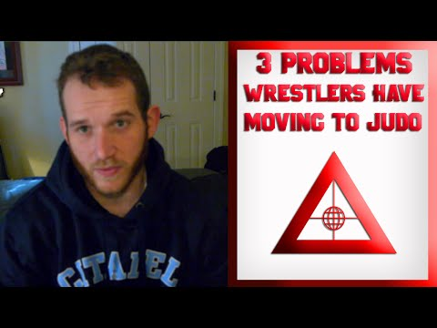 3 problems wrestlers have moving to Judo