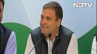 सुनें- कांग्रेस अध्यक्ष राहुल गांधी ने जीत के बाद क्या कहा