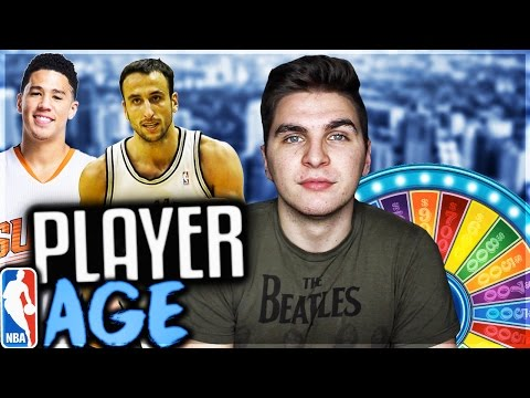 SPIN THE WHEEL OF PLAYERS AGES! NBA 2K17 SQUAD BUILDER