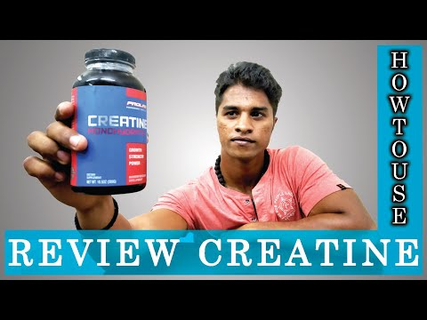 Creatine Supplement: How to Use it for Better Muscle Growth | Tamil | Aravind RJ | Udarpayirchi