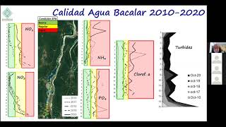 Dra. Teresa Alvarez Legorreta . Investigadora Titular A . Foro 2020 Agua Clara Bacalar