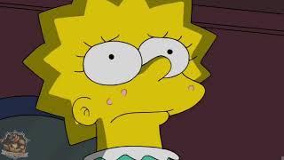 Die Simpsons Lisa und Bart kommen in die Pubertät