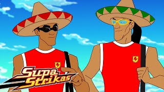 Supa Strikas | The Forgotten City | Best Moments - Blasts From The Past! | Soccer Cartoons for Kids
