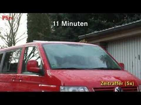 aufheiztest standheizung vw t5 youtube. Black Bedroom Furniture Sets. Home Design Ideas