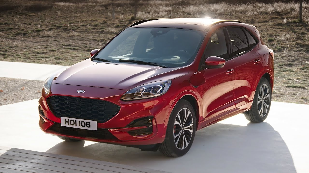2020 Ford Kuga Plug In Hybrid Exterior Interior Driving