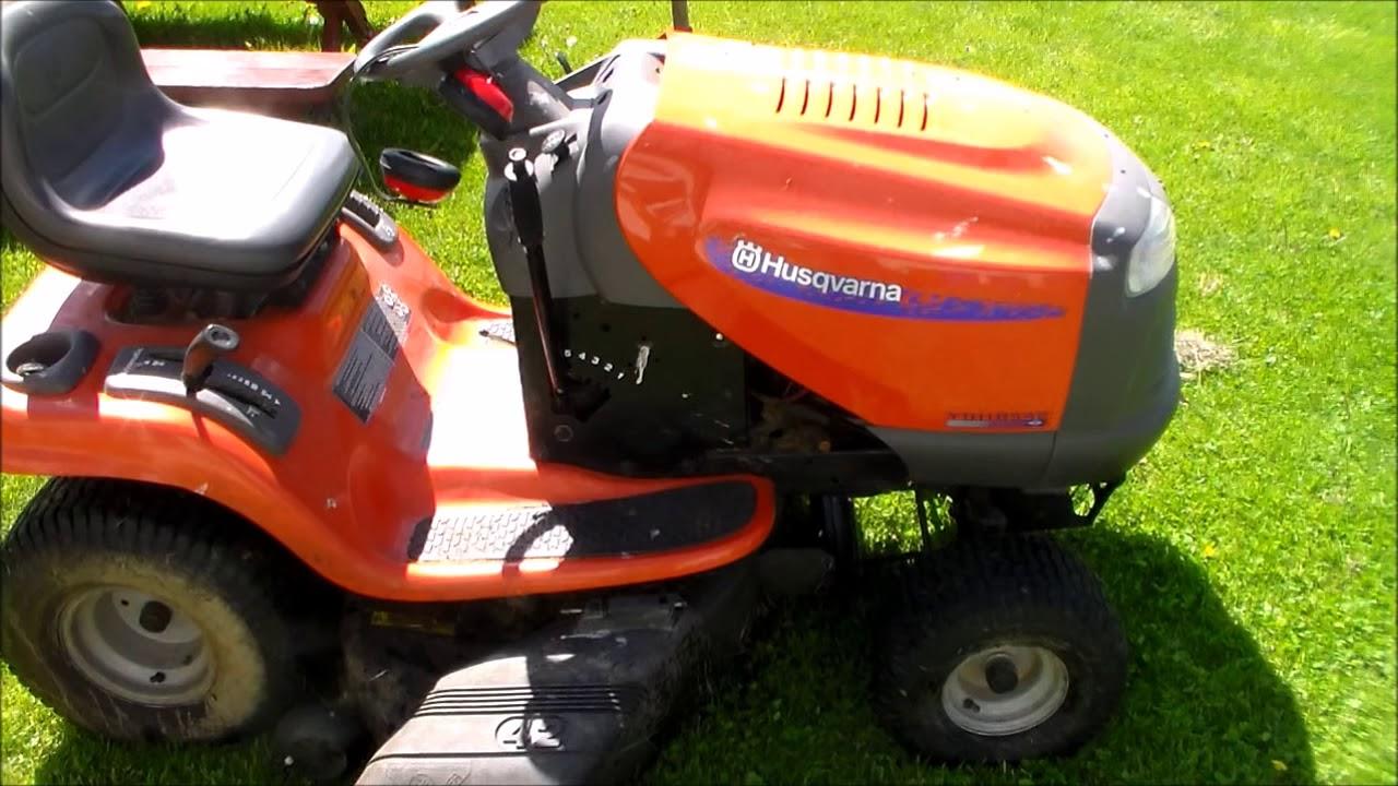 husqvarna ride mower electric clutch spring replacement [ 1280 x 720 Pixel ]