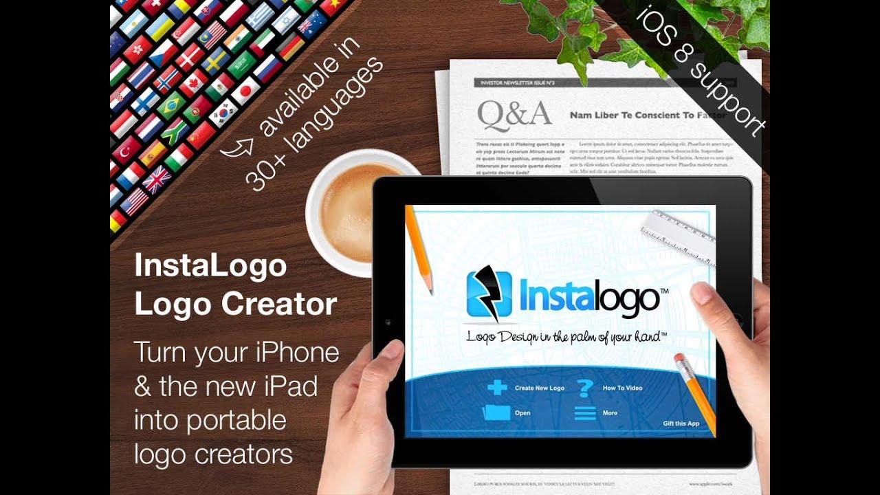 نتيجة بحث الصور عن Logo Creator InstaLogo