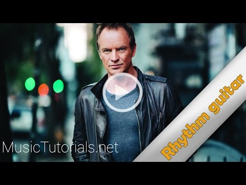 sting i can 39 t stop thinking about you rhythm guitar youtube. Black Bedroom Furniture Sets. Home Design Ideas