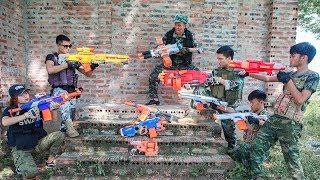 LTT Nerf War : SEAL X Warriors Nerf Guns Fight Criminal Group With Legendary Warrior