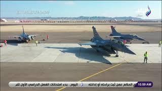 الرئيس السيسى يفتتح قاعدة برنيس العسكرية بالبحر الأحمر ويشهد ختام المناورة قادر 2020