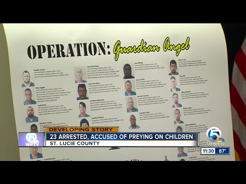23 men arrested in St. Lucie County child predator sting