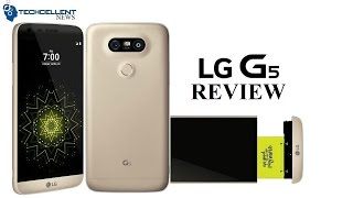 GOLD LG G5 UNBOXING AND REVIEW