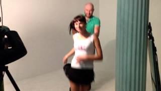 Katerina MarkaBackstage(Гоша и Даша фотографируются на пресс волл, который будет у них на свадьбе 29 сентября 2012 года., 2012-08-29T21:13:11.000Z)