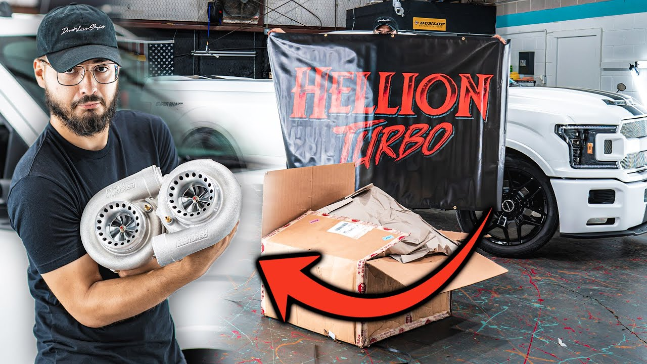 Building the World's FIRST Twin Turbo Shelby F150 Super Snake Sport! Pt. 1