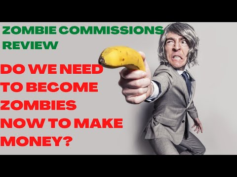 Zombie Commissions Review  (Warning): Watch Till The End To Earn Like A Zombie.