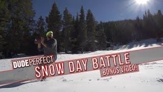 Dude Perfect: Snow Day Battle BONUS Video