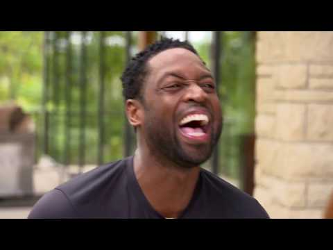 LeBron James crashes Dwyane Wade's interview | ESPN
