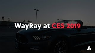 WayRay at Consumer Electronics Show 2019 (CES in Las Vegas)