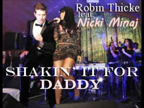 Shakin It For Daddy Clean  Robin Thicke ft Nicki Minaj