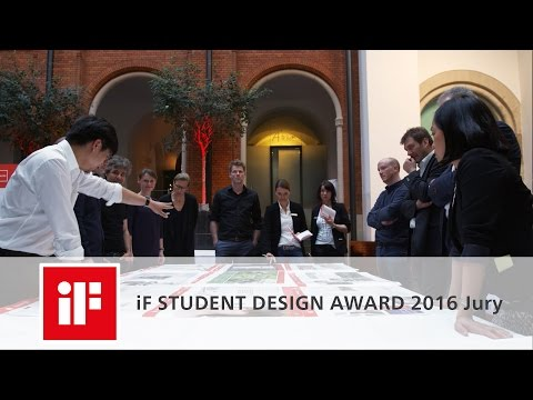 iF STUDENT DESIGN AWARD 2016 Jury