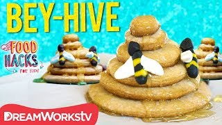 Queen Bey-Hive Cookies + More Beyonce Food Hacks | FOOD HACKS FOR KIDS
