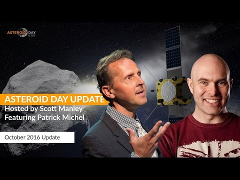 Asteroid Update - October with Guest Patrick Michel