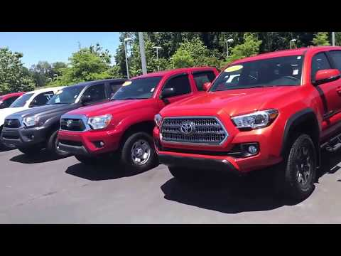 Allen's Toyota Tacoma new and pre-owned inventory review by Jody