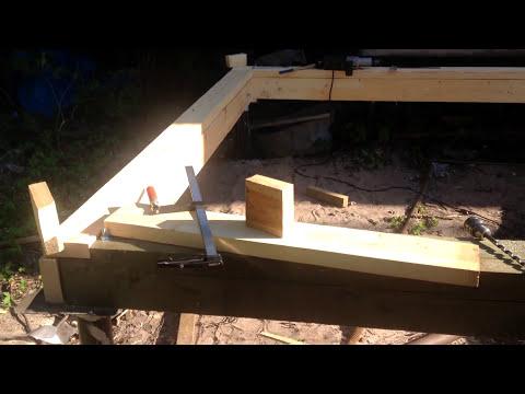 Строительство быстровозводимых каркасных брусовых домов и