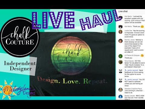 Free Haul and Chalk Couture Rainbow ink