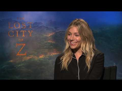 "Sienna Miller Interview for ""The Lost City of Z"""