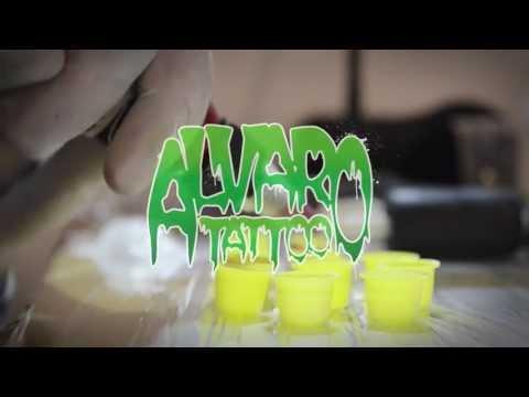 Tattoo Blanka Street fighter por Alvaro Hernandez