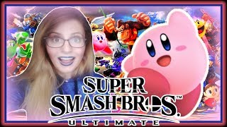 Your Smash Ultimate Girl Super Smash Bros Ultimate FULL Reaction ♡ Super Smash Bros Ultimate ♡ Ep 1