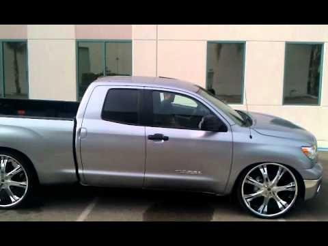 Tundra Bagged On 28s Youtube