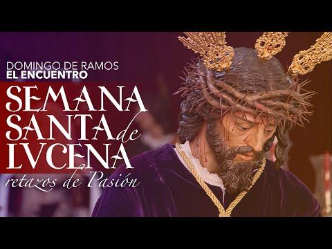 VÍDEO: Retazos de la Semana Santa de Lucena: Domingo de Ramos: Sagrado Encuentro