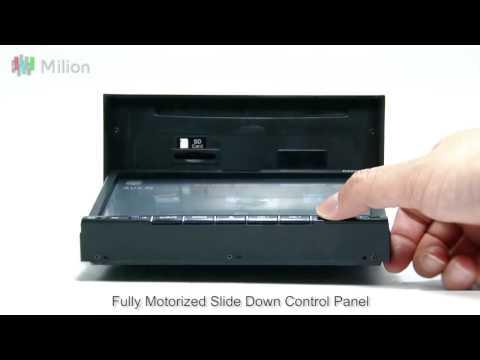 Milion D2229 7 Inch Digital Touch Screen Car DVD Player