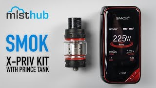 SMOK X-Priv 225W Kit with TFV12 Prince Tank Video