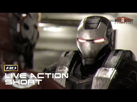 "Live Action CGI VFX Animated Short ""IRONMAN VS. WAR MACHINE"" Action film by Julian Fitzpatrick"