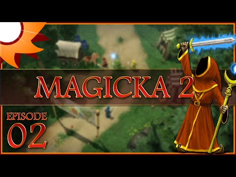 Magicka 2 Co-Op - Episode 2 ...Crabs Everywhere!...