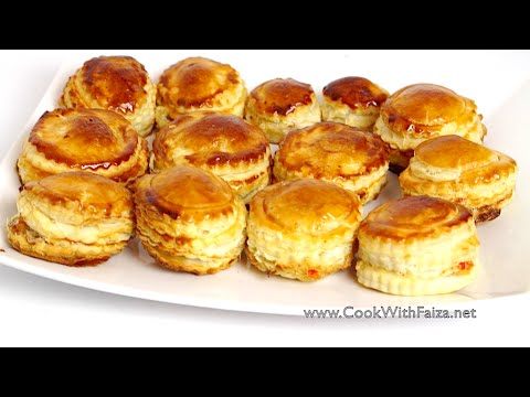 CHICKEN CHEESE PATTIES *COOK WITH FAIZA*