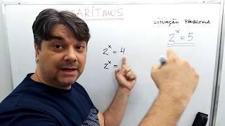 LOG - LOGARÍTMOS - Matemática