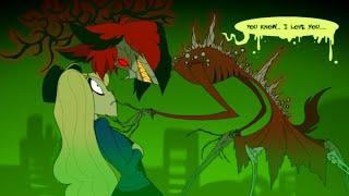 ALASTOR TELLS CHARLIE HE LOVES HER! (Hazbin Hotel Comic Dub Animations)